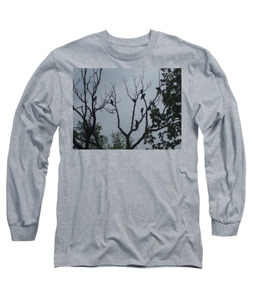 Long Sleeve T-Shirt featuring the photograph Birds by Fortunate Findings Shirley Dickerson