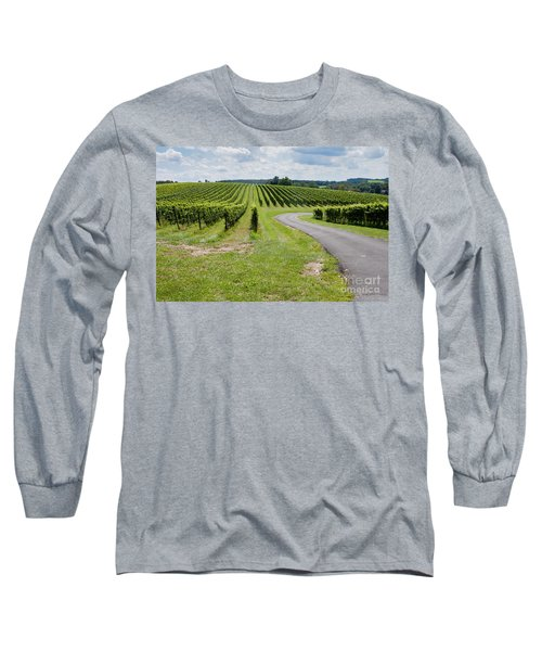 Maryland Vinyard In August Long Sleeve T-Shirt