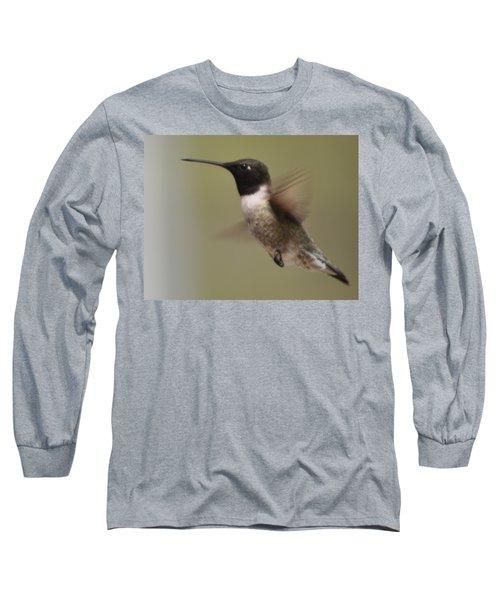 Black-chinned Hummingbird Long Sleeve T-Shirt