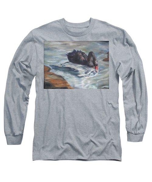 Black Elegance Long Sleeve T-Shirt