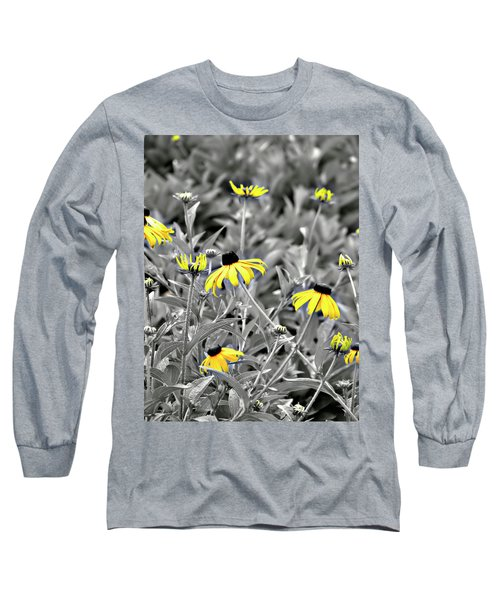 Black-eyed Susan Field Long Sleeve T-Shirt
