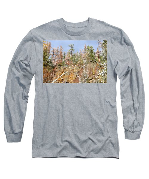Black Hills Color Palette Long Sleeve T-Shirt by Clarice  Lakota