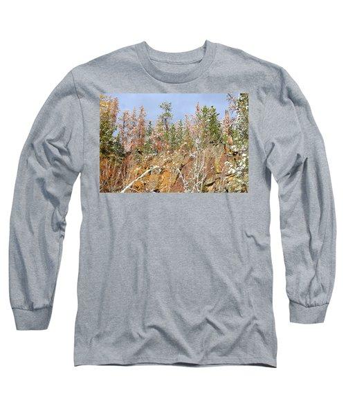 Black Hills Color Palette Long Sleeve T-Shirt