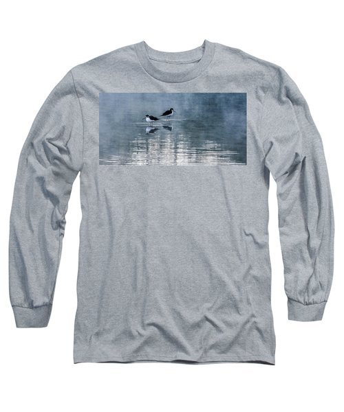 Black-necked Stilts Long Sleeve T-Shirt