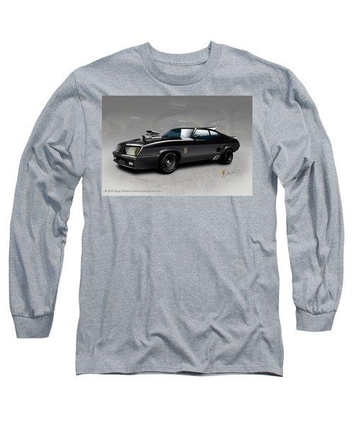 Black On Black Long Sleeve T-Shirt