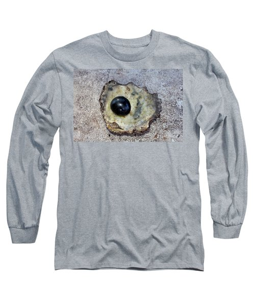 Long Sleeve T-Shirt featuring the photograph Black Pearl by Sergey Lukashin