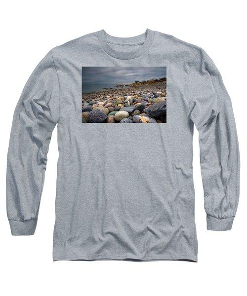 Black Rock Beach Long Sleeve T-Shirt by Brian MacLean