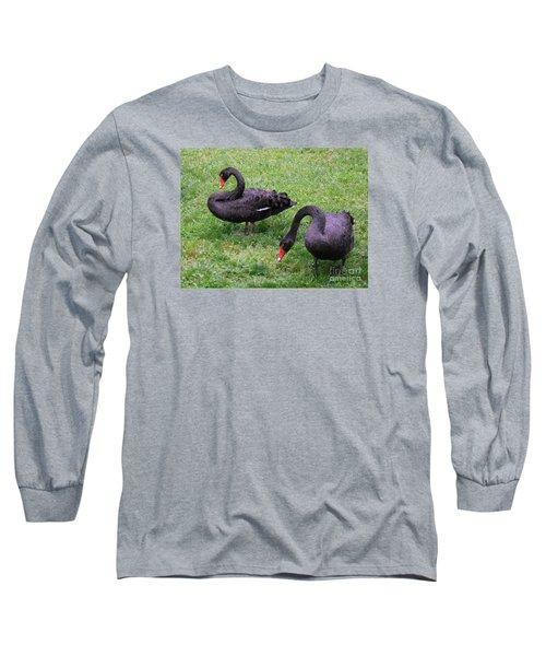 Black Swans Long Sleeve T-Shirt
