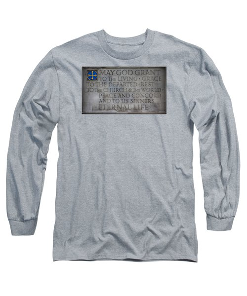 Blessing Long Sleeve T-Shirt by Stephen Stookey