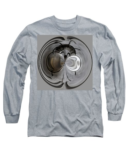 Blown Out Filament Long Sleeve T-Shirt