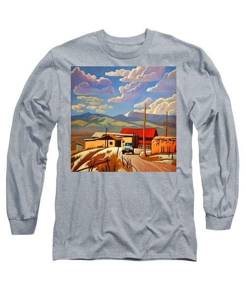Blue Apache Long Sleeve T-Shirt