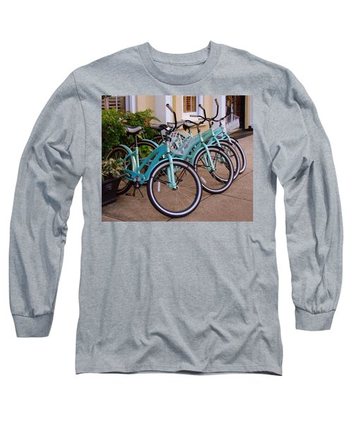 Blue Bikes Long Sleeve T-Shirt