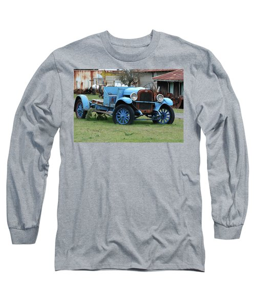 Blue Chevy  Long Sleeve T-Shirt