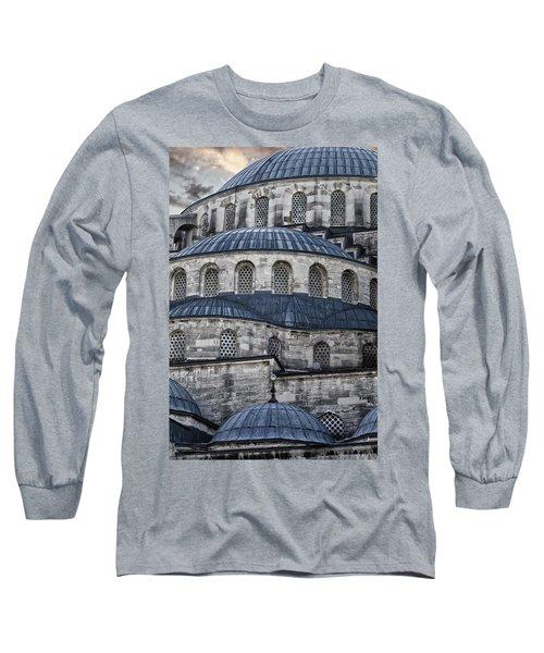 Blue Dawn Blue Mosque Long Sleeve T-Shirt