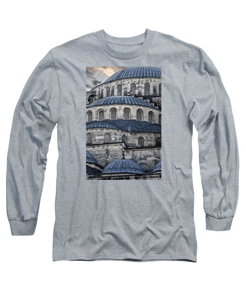 Blue Dawn Blue Mosque Long Sleeve T-Shirt