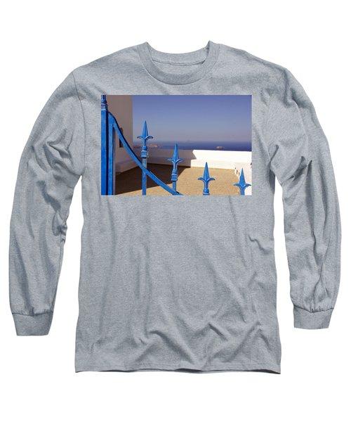 Blue Gate Long Sleeve T-Shirt