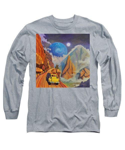 Cliff House Long Sleeve T-Shirt by Art James West