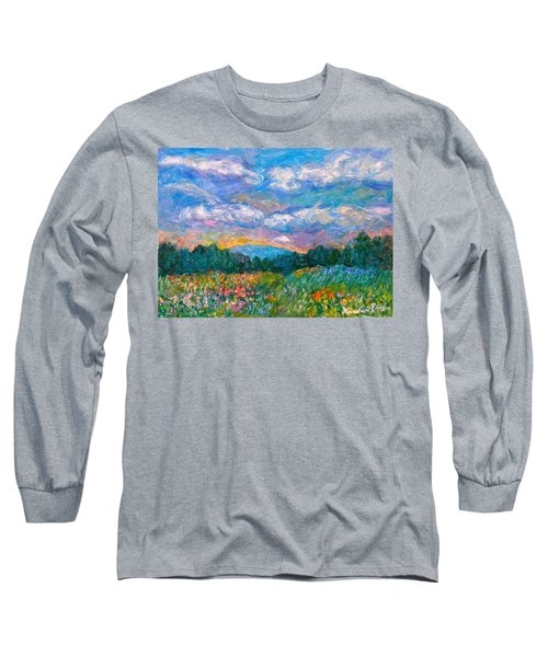 Blue Ridge Wildflowers Long Sleeve T-Shirt