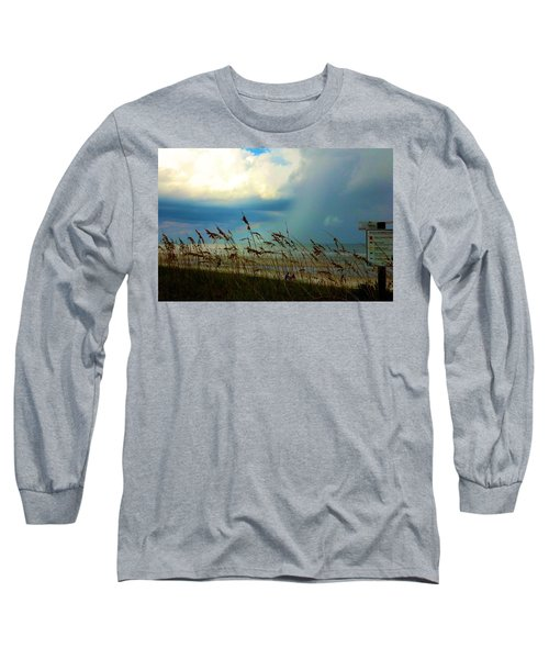 Blue Sky Above Long Sleeve T-Shirt