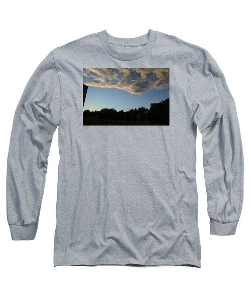 Long Sleeve T-Shirt featuring the photograph Blue Visions 4 by Teo SITCHET-KANDA