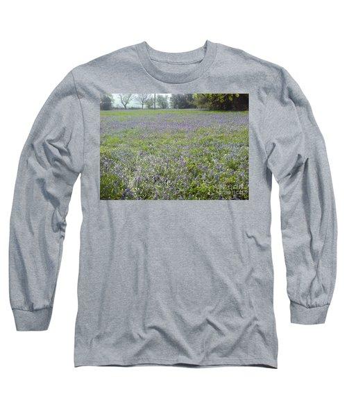 Bluebell Fields Long Sleeve T-Shirt