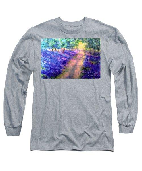 Bluebell Woods Long Sleeve T-Shirt by Hazel Holland