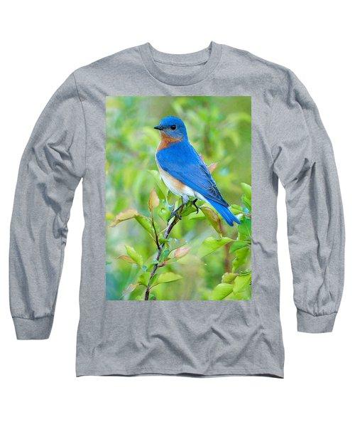 Bluebird Joy Long Sleeve T-Shirt