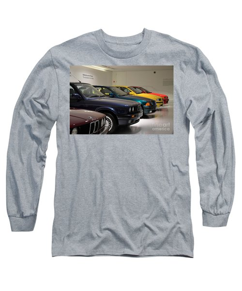 Bmw Cars Through The Years Munich Germany Long Sleeve T-Shirt by Imran Ahmed