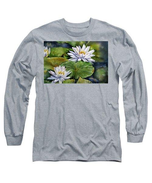 Boardwalk Lilies Long Sleeve T-Shirt