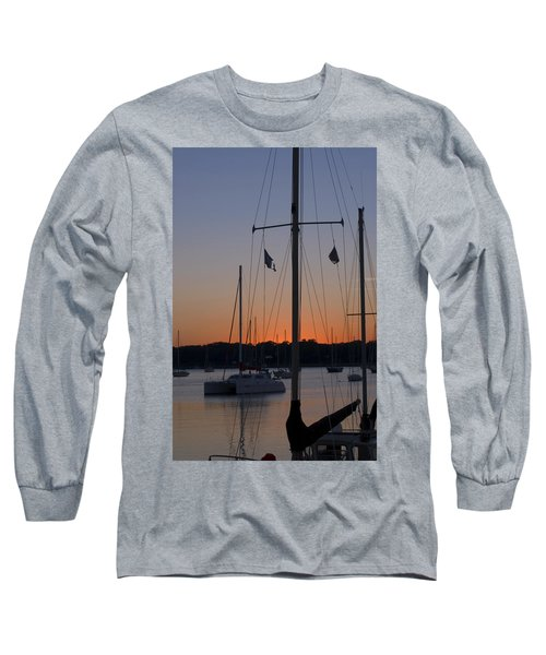Boats At Beaufort Long Sleeve T-Shirt