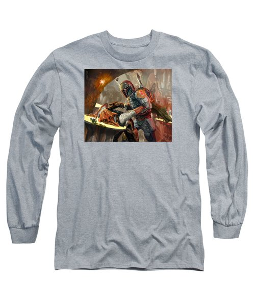 Boba Fett - Star Wars The Card Game Long Sleeve T-Shirt