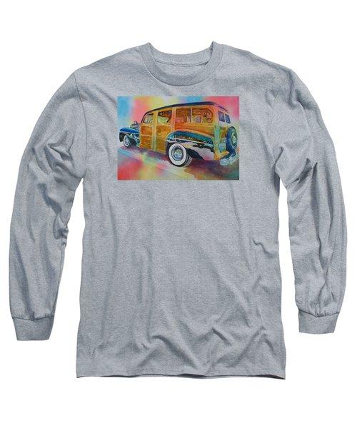 Boca Classic 42 Woody Long Sleeve T-Shirt by Tara Moorman
