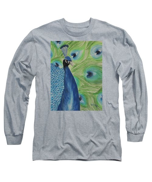 Boldly Beautiful Long Sleeve T-Shirt by Patricia Olson