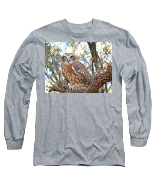 Boobook Owl Long Sleeve T-Shirt