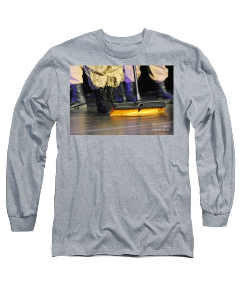 Boots And Brooms Long Sleeve T-Shirt