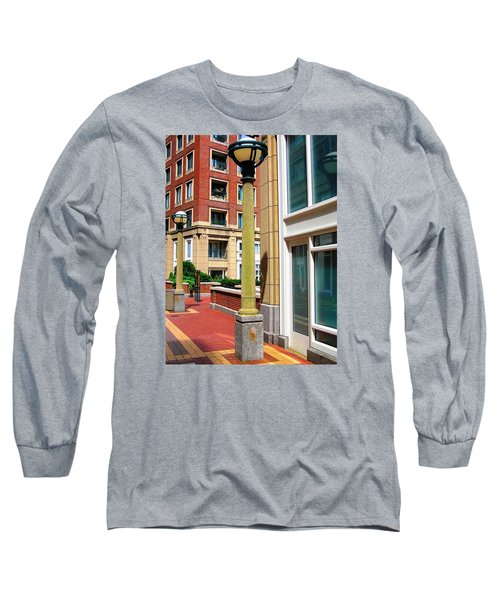Boston Interior Long Sleeve T-Shirt by Oleg Zavarzin