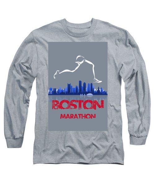 Boston Marathon3 Long Sleeve T-Shirt