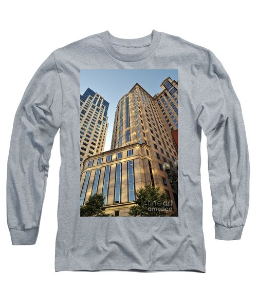 Boston Skyscrapers Long Sleeve T-Shirt