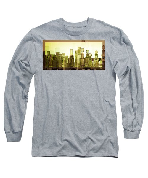 Long Sleeve T-Shirt featuring the photograph Bottled Light by Holly Kempe