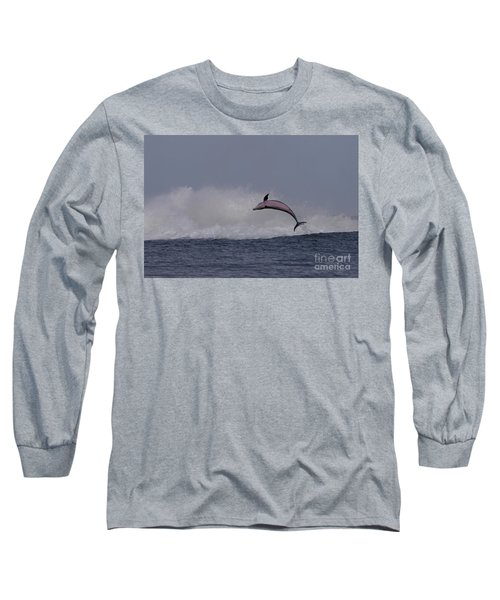 Bottlenose Dolphin Photo Long Sleeve T-Shirt