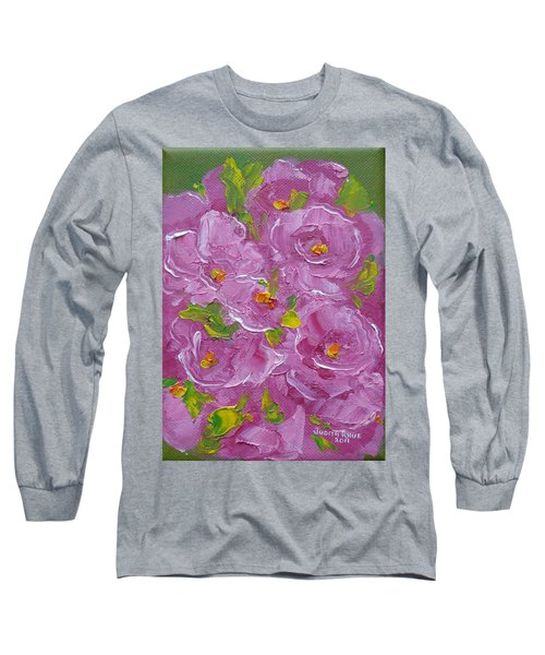 Bouquet Long Sleeve T-Shirt by Judith Rhue