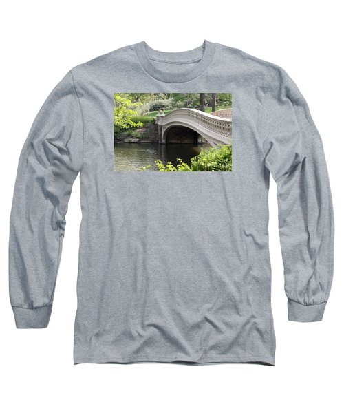 Bow Bridge Iv Long Sleeve T-Shirt by Christiane Schulze Art And Photography