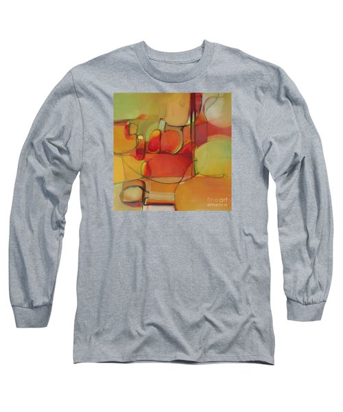 Long Sleeve T-Shirt featuring the painting Bowl Of Fruit by Michelle Abrams