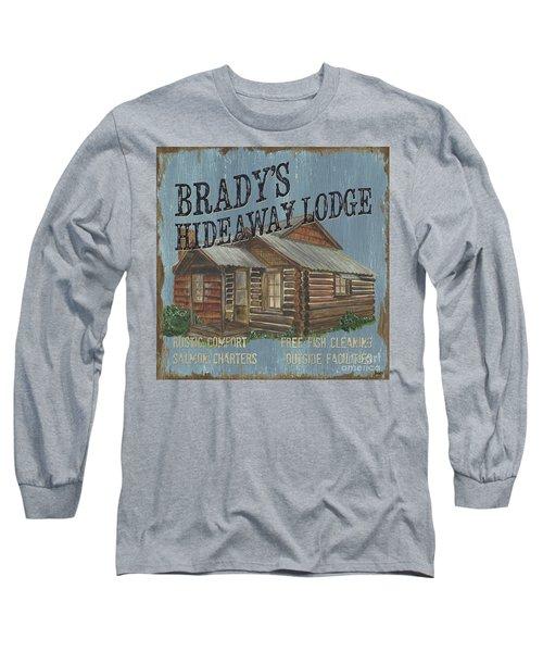 Brady's Hideaway Long Sleeve T-Shirt