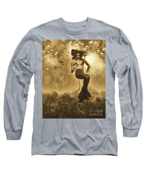 Breathing Water Long Sleeve T-Shirt