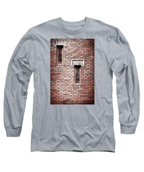 Brick Work Long Sleeve T-Shirt by Melanie Lankford Photography