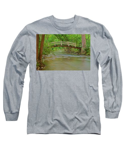 Bridge Over Valley Creek Long Sleeve T-Shirt