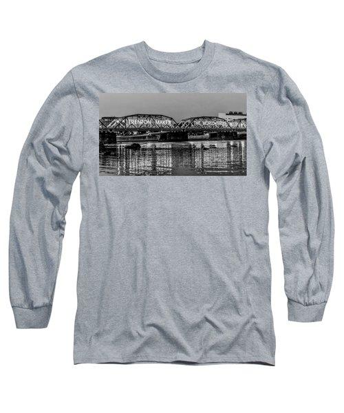 Trenton Makes Bridge Long Sleeve T-Shirt