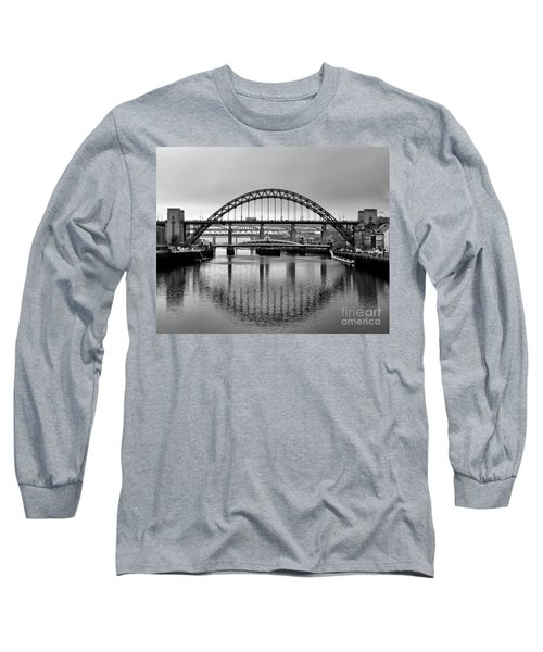 Bridges Over The River Tyne Long Sleeve T-Shirt