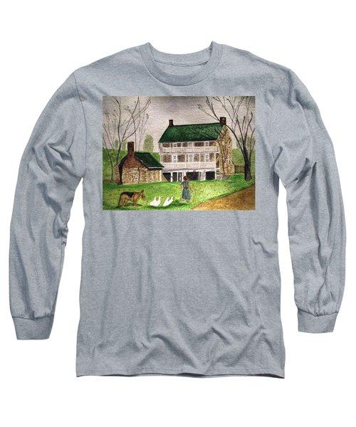 Bringing Home The Ducks Long Sleeve T-Shirt